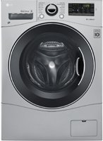LG WM3488HS 24″ Washer/Dryer Combo with 2.3 cu. ft. Capacity, Stainless Steel Drum in Stai ...