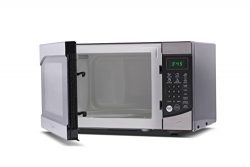 Westinghouse WM009 900 Watt Counter Top Microwave Oven, 0.9 Cubic Feet, Stainless Steel Front wi ...