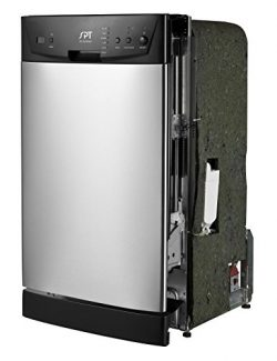 SPT SD-9252SS Energy Star 18″ Built-In Dishwasher, Stainless Steel
