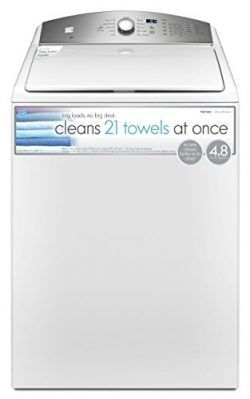 Kenmore 26132 4.8 cu.ft. Top Load Washer with Triple Action Impeller in White, includes delivery ...