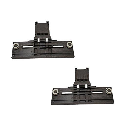 2 Pack W10350376 Upper Rack Adjuster For Whirlpool