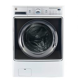 Kenmore Smart 41982 5.2 cu.ft. Front Load Washer with Accela Wash Technology in White – Co ...