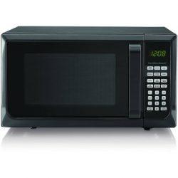 Hamilton Beech .9 cubic foot 900 watt microwave (Black)