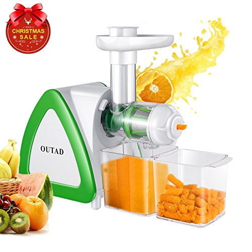 Slow Juicer Reddit : OUTAD 150W Low Speed Masticating Juicer Extractor, Cold Press Juicer, Lowest Noise, with ...