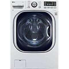 LG WM3997HWA Ventless 4.3 Cu. Ft. Capacity Steam Washer/Dryer Combination with TurboWash, TrueBa ...