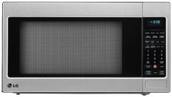 LG LCRT2010ST 2.0 Cu Ft Counter Top Microwave Oven with Easy Clean, Stainless Steel