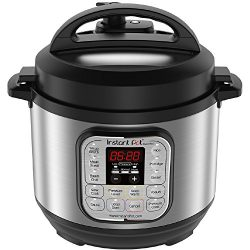 Instant Pot Duo Mini 3 Qt 7-in-1 Multi- Use Programmable Pressure Cooker, Slow Cooker, Rice Cook ...