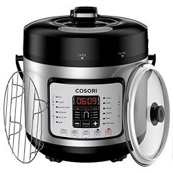 COSORI 7-in-1 Multifunctional Programmable Pressure Cooker, Rice Cooker, Slow Cooker with Glass  ...