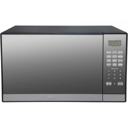 Oster 1.3-cu. ft. Microwave Oven with Grill | Smudge-Resistant Mirror Finish, Oster 1.3-cu. ft.  ...