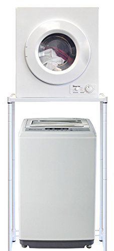 Magic Chef Compact Portable 1.6 cu ft. Top Load Washing Machine Bundle with 2.6 cu ft Front Load ...