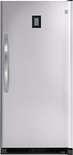 Kenmore Elite 27003 20.5 cu. ft. Upright Freezer in Stainless Steel, includes delivery and hooku ...