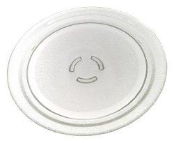Whirlpool 4393799 Microwave Glass Turntable Plate, 12″ Dia.