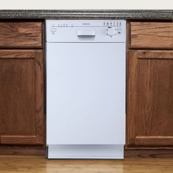 EdgeStar BIDW1801W 18″ Built-In Dishwasher – White