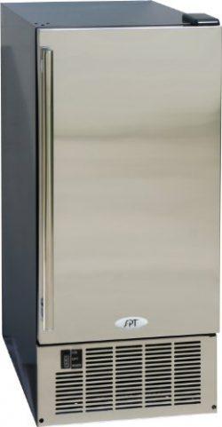 SPT IM-600US Stainless Steel Under-Counter Ice Maker, 50-Pound