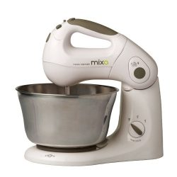 """Mixa"" Powerful Patented Twin Motor 10 Speed Stand and Hand Mixer"