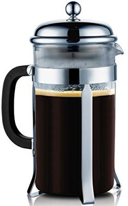 French Press Coffee & Tea Makers 8 Cup (1 liter, 34 oz)–Best Coffee Press Pot with 304 ...