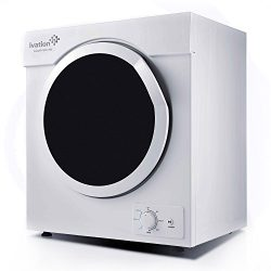 Ivation Compact Portable Ventless Electric Dryer for Apartments, Condos, Townhomes, Dorm Rooms & ...