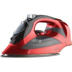 Brentwood Appliances MPI-59R Steam Iron with Retractable Cord, Red