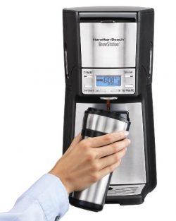 Hamilton Beach 12-Cup Coffee Maker, Programmable Brewstation Dispensing Coffee Machine, Summit U ...