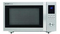 Sharp Microwaves ZSMC1655BS Sharp 1,100W Countertop Microwave Oven, 1.6 Cubic Foot, Stainless Steel
