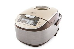 Aroma Professional 6 Cups Uncooked Rice Cooker, Food Steamer, Silver (ARC-6106)