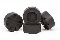 4-Pack of Anti-Vibration and Anti-Walk Isolation Pads Heavy Duty Rubber for Washer and Dryer