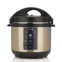 Fagor LUX Multi-Cooker, 4 quart, Electric Pressure Cooker, Slow Cooker, Rice Cooker, Yogurt Make ...