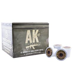 Black Rifle Coffee Company AK-47 Coffee Rounds for Single Serve Brewing Machines (32 Ct)