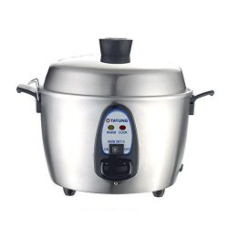TATUNG TAC-06KN(UL) Stainless Steel Rice Cooker