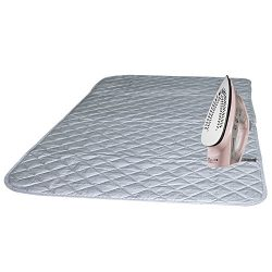Ironing Blanket, Bukm Magnetic Ironing Mat Laundry Pad, Quilted Washer Dryer Heat Resistant Pad, ...