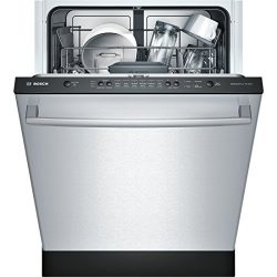 Bosch SHX3AR75UC Ascenta 24″ Wide Fully Integrated Built-In Dishwasher with 6 Wash Cycles  ...