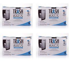 "BestAir Trash Compactor Bags(16"" D. x 9"" W. x 17"" H,pack of 12) (4)"