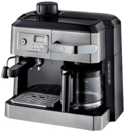 DeLonghi BC0330T Combination Drip Coffee and Espresso Machine