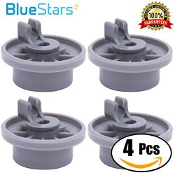 Ultra Durable 165314 Dishwasher Lower Rack Wheel replacement by Blue Stars – Exact Fit for ...