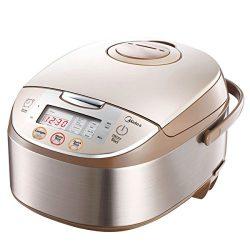 Midea Mb-fs5017 10 Cup Smart Multi-cooker/Rice Cooker/Maker & Steamer & Slow Cooker, Bru ...