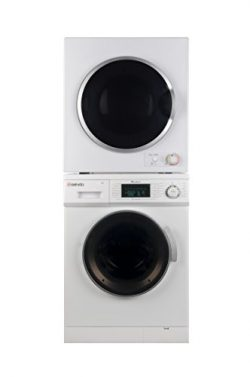 Sekido Stackable Compact Super White Washer SK 824 and Electric Venting Dryer SK 850 Set of the  ...