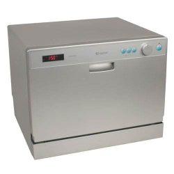 EdgeStar DWP61ES 6 Place Setting Countertop Portable Dishwasher – Silver