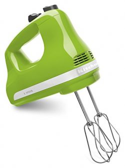 KitchenAid KHM512GA 5-Speed Ultra Power Hand Mixer, Green Apple