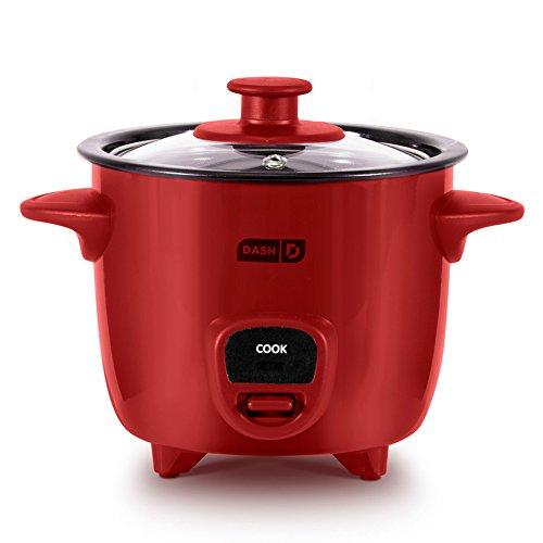 Dash DRCM100XXRD04 Rice Cooker, Red - ApplianceBee | ApplianceBee