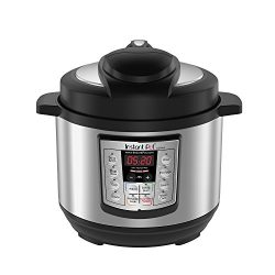 Instant Pot LUX Mini 3 Qt 6-in-1 Multi- Use Programmable Pressure Cooker, Slow Cooker, Rice Cook ...