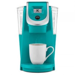 Keurig 2.0 K200 Plus Series Single Serve Plus Coffee Maker Brewer (Newest Model) Turquoise