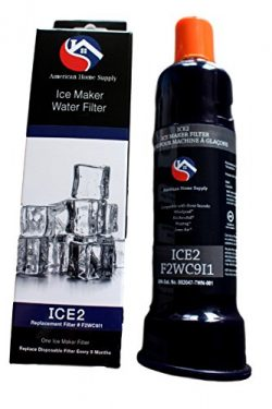 ICE2 F2WC9I1 – Ice Maker Filter by American Home Supply. Compatible with: Whirlpool l Mayt ...