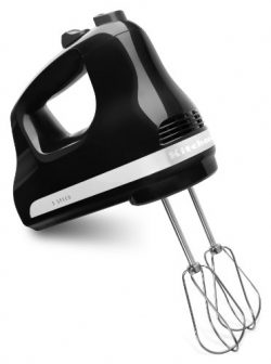 KitchenAid KHM512OB 5-Speed Ultra Power Hand Mixer, Onyx Black