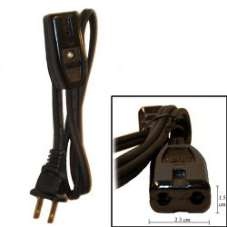 Univen Electrical Cord 1/2″ Terminal Spacing 2.5′ Long fits Percolators and Rice Cookers