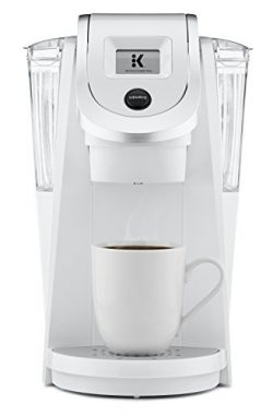Keurig K250 Single Serve, Programmable K-Cup Pod Coffee Maker, White