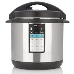 Fagor 976010395 Lux Max Multi-Cooker, 8 Quart, Brushed Stainless Steel