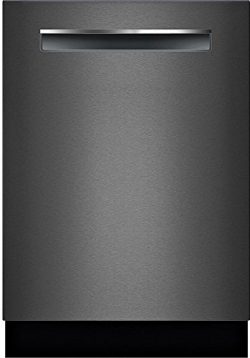 Bosch SHPM78W54N 800 Series 24 Inch Built In Fully Integrated Dishwasher with 5 Wash Cycles in B ...