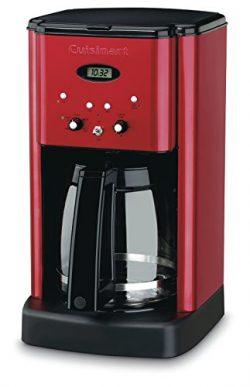 Cuisinart DCC-1200MR 12CUP Programmable Coffeemaker 12 Cup Metallic Red