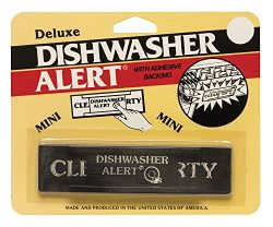 Harold Import Co. 710-HIC Deluxe Dishwasher Alert Adhesive Backing