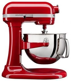 KitchenAid KL26M1XER Professional 6-Qt. Bowl-Lift Stand Mixer – Empire Red